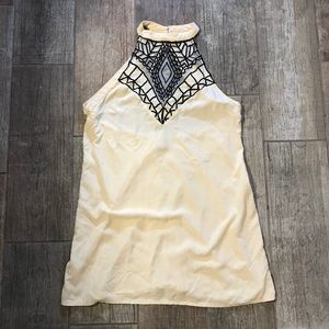 Tallow XX Free People haltered top